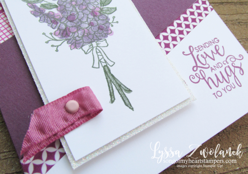 Lots lavender saleabration stampin up rubber stamps of wildflower stamparatus sweet sugarplum