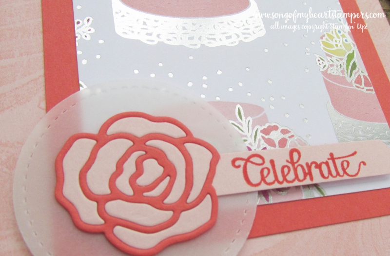 Sweet Soiree stampin up shop now scrapbooking rubber stamping 12x12 papers wedding cardmaking
