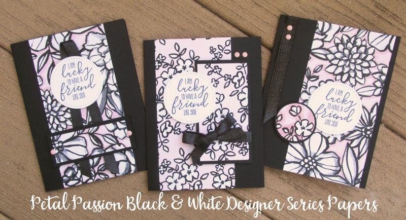 Petal passion black white DSP coloring pages cardmaking DIY adult Stampin Up shop Lyssa Blends markers