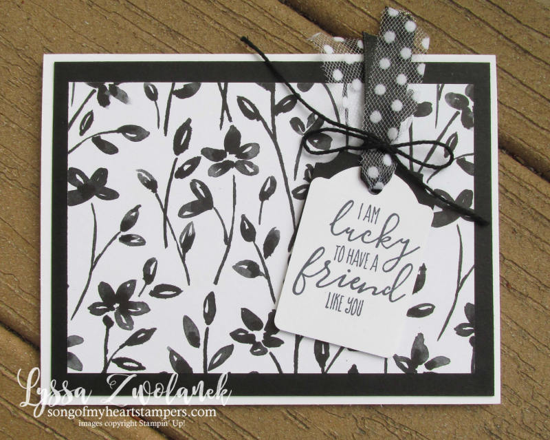 Petal Palette sponge daubers black and white coloring papers adult stampin up DIY cardmaking