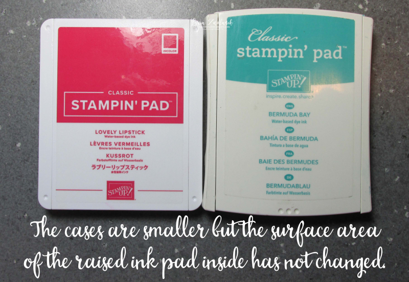 New Ink Pads cases from Stampin Up Lyssa Shop sales