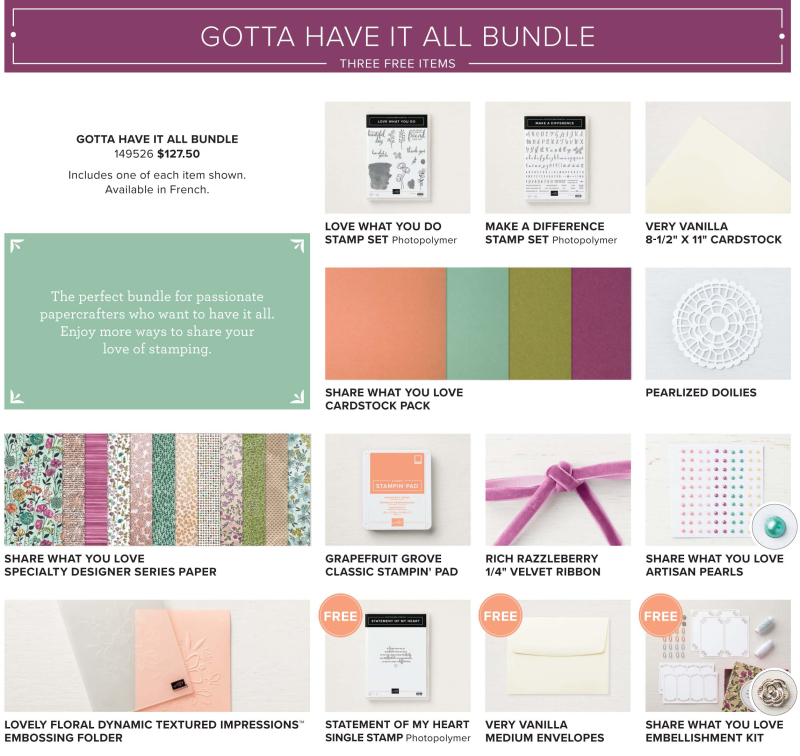 Share what you love bundle 3