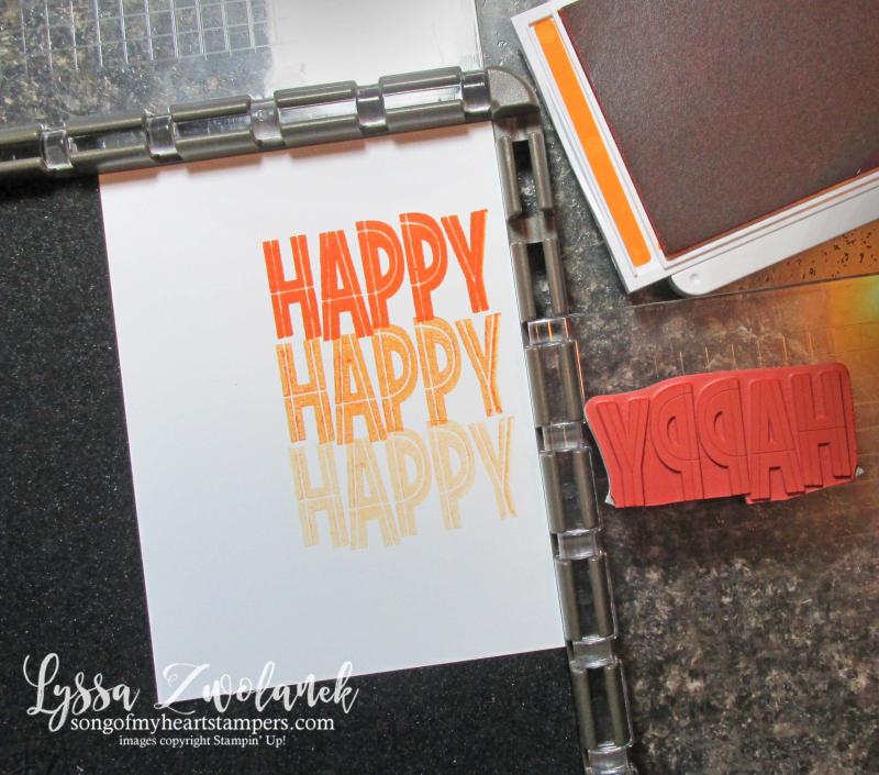 Stamparatus tips tricks Stampin Up markers Lyssa