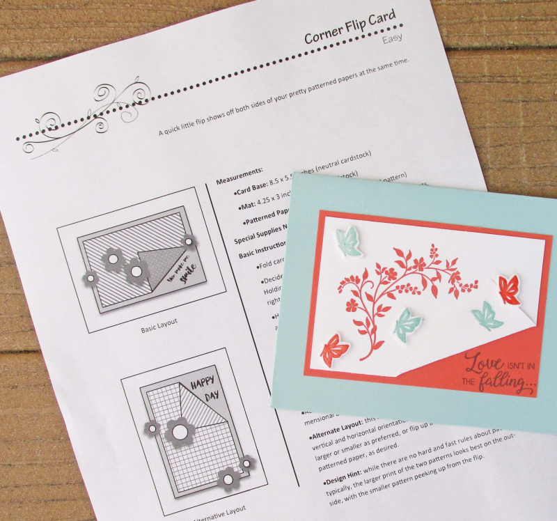 Cheat Sheets cutting guides cardmaking helper layout sketch idea tutorial Lyssa