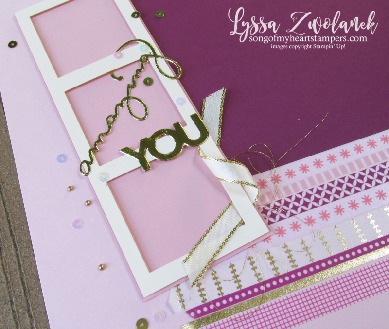 Celebrate you amazing thinlets 12x12 scrapbooking layouts Lyssa summer school