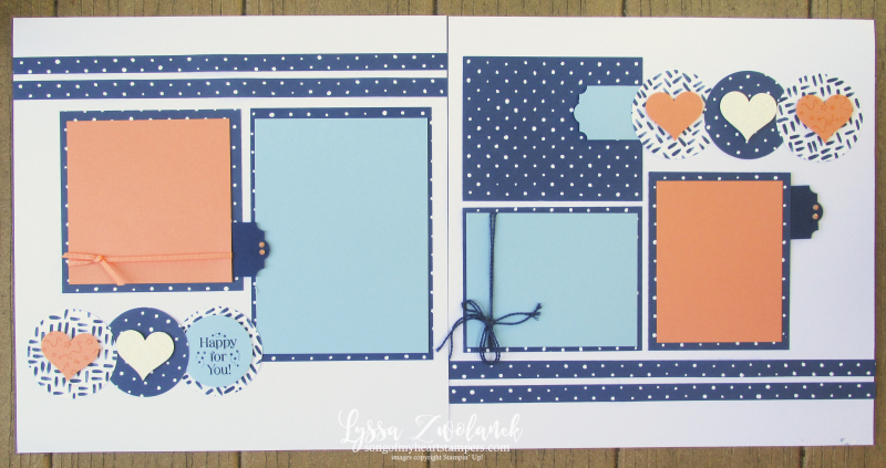 Cheat sheets one sheet wonders scrapbooking layout sketches polkadot Lyssa 12x12