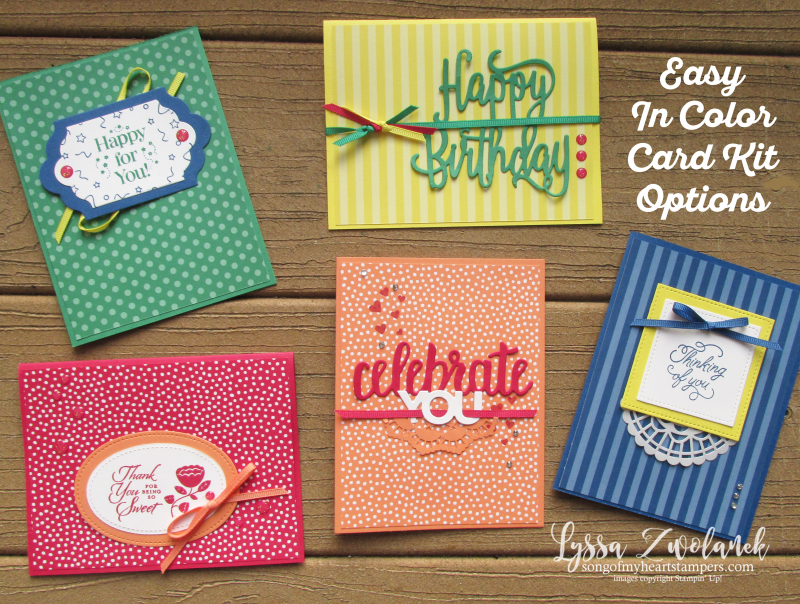 Alaska stampin up customer appreciation special offer card kit Lyssa