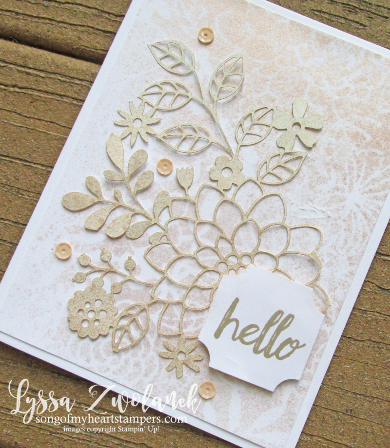 Delightfully detail lace lasercut papers 12x12 sheets Stampin Up wedding cards invitations