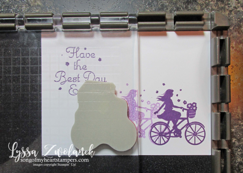 Stamparatus tips tricks Stampin Up plate Lyssa papercrafts