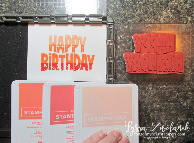 Stamparatus tips tricks Stampin Up plate Lyssa markers