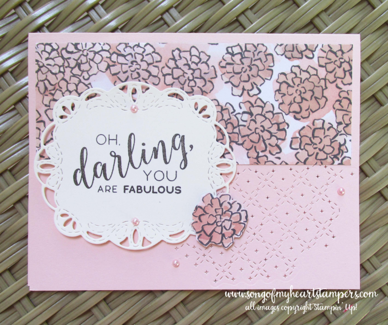 Stitched all around labels framelits stampin up lynn dunn Lyssa