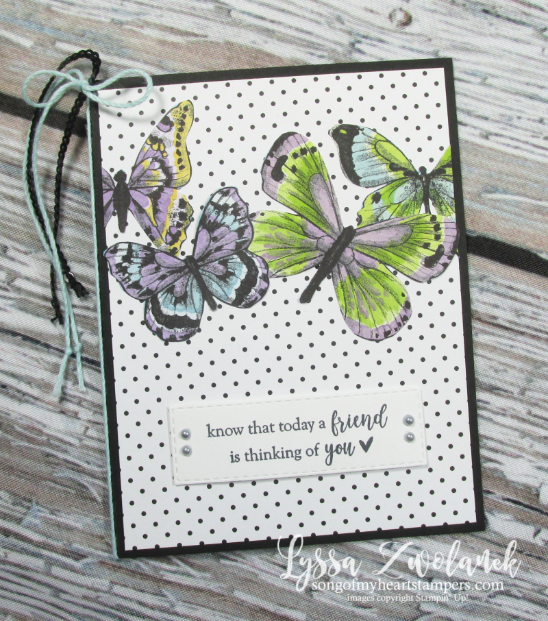 Butterfly DSP gala paper 12x12 scrapbook SAB free Stampin up butterflies layout saleabration Lyssa
