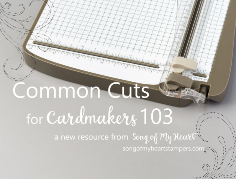 Common cuts 103 cardmaking resources Stampin Up