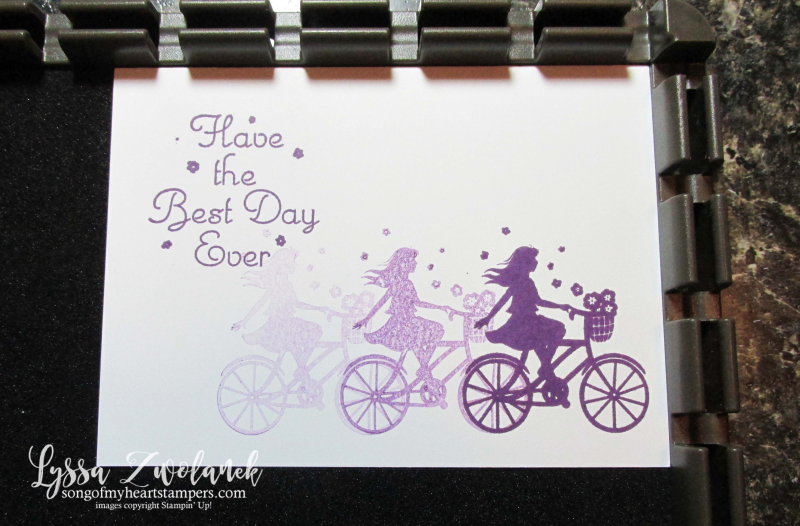 Stamparatus tips tricks Stampin Up plates Lyssa