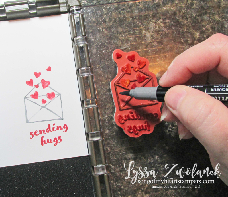 Stamparatus tips tricks Stampin Up marker technique Lyssa