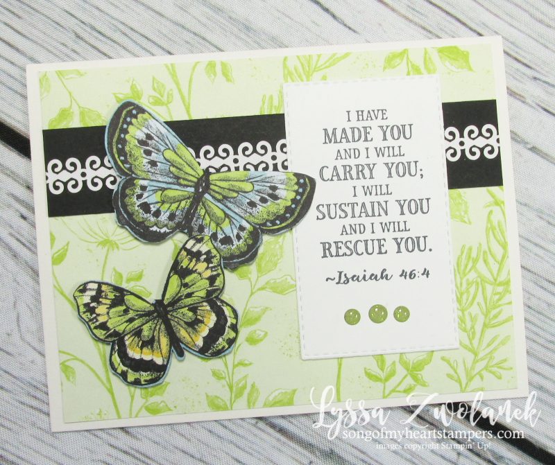 Botanical butterfly 12x12 scrapbooking papers albums stampin up butterflies lace sheets scripture