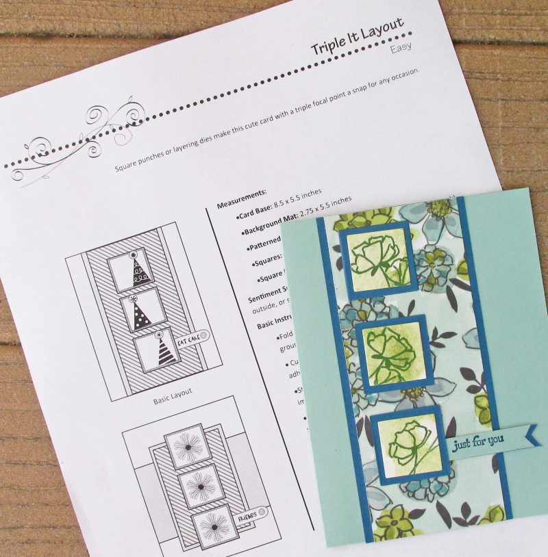 Cheat Sheets cutting guides cardmaking helpers layouts sketch ideas tutorials Lyssa