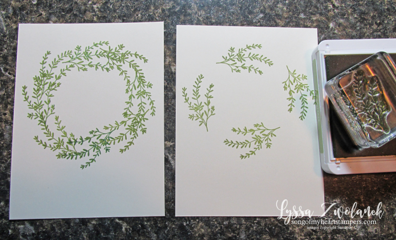 Wreath building tutorial no template necessary rosemary seasoned with kindness stampin up