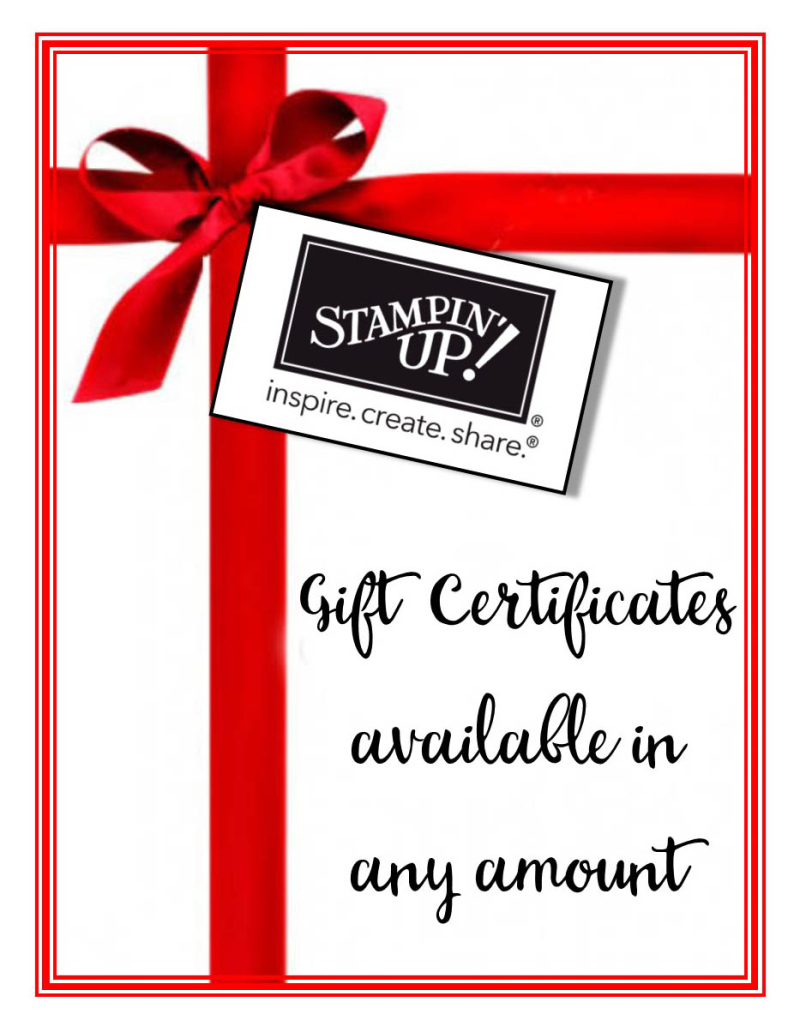 Gift certificates available for those Christmas stockings! - Song of ...
