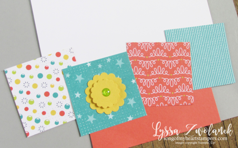 Sunshine wishes layout scrapbooking candy crush Stampin Up 12x12