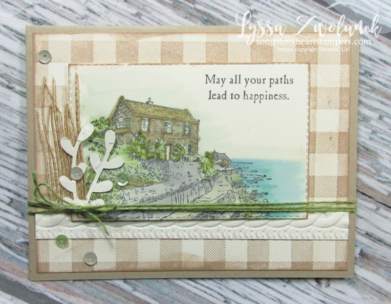 By The Bay Stampin up seashore Maine coast ocean lighthouse stamps