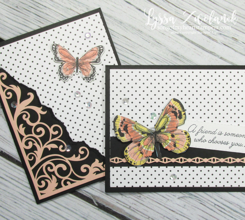 Laser cut lace sheets Stampin Up Beautifully Detailed specialty scrapbooking 12x12 botanical butterfly