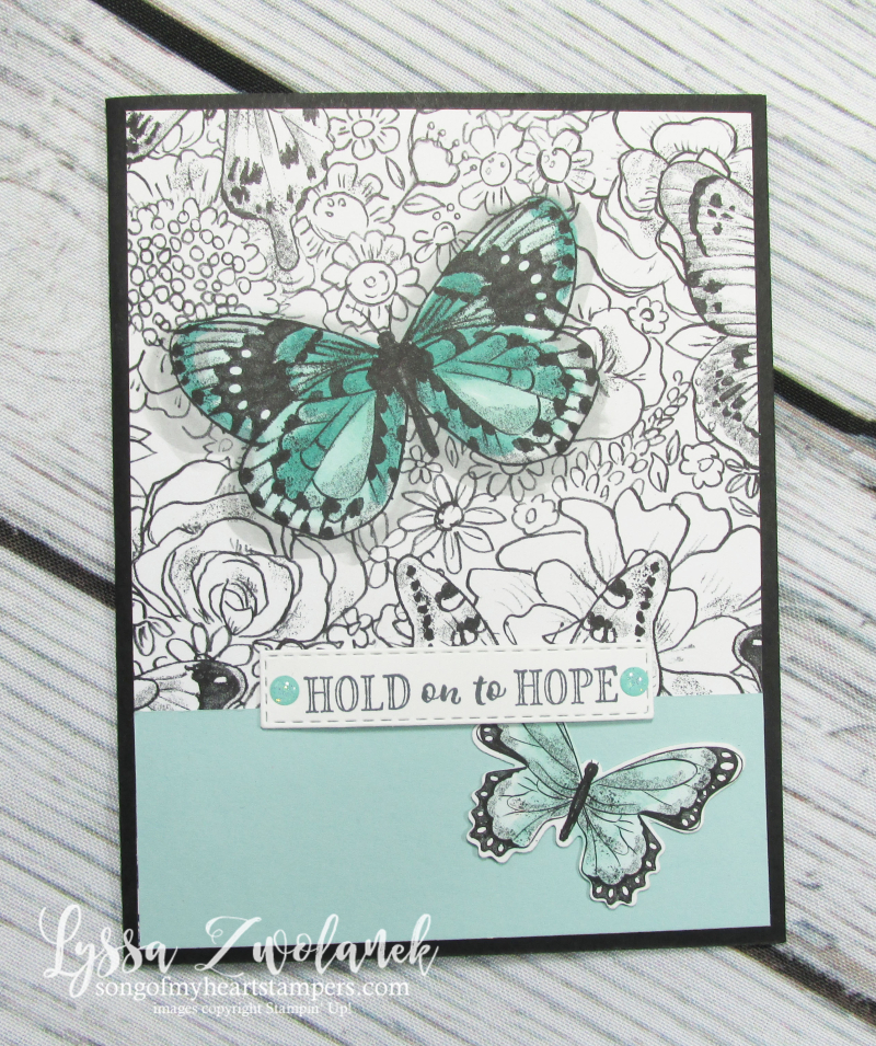 Botanical butterfly 12x12 scrapbooking papers albums stampin up butterflies scripture