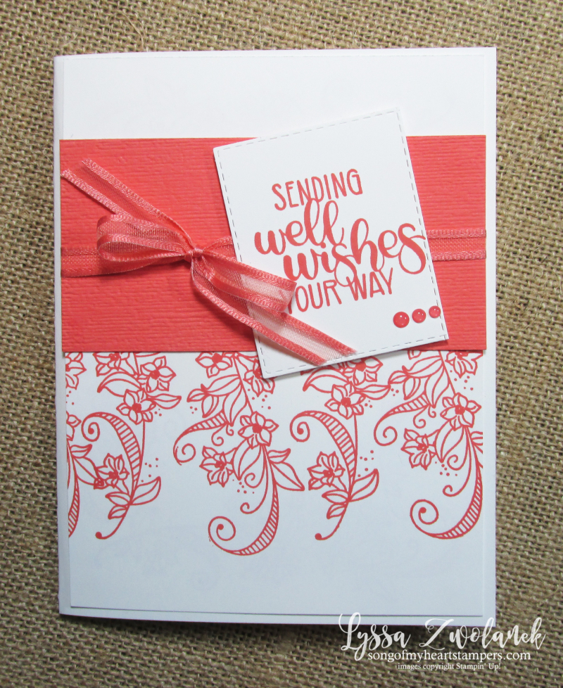 Beauty Abounds stampin up diy cardmaking techniques well wishes flourishes