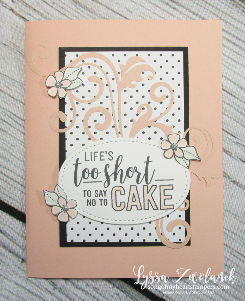 Amazing Life delightfully detailed rubber stamps stampin up cardmaking DIY laser cut lace