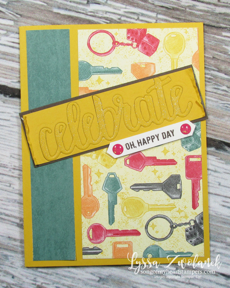 Classic garage geared up new driver celebrate congrats card Stampin Up