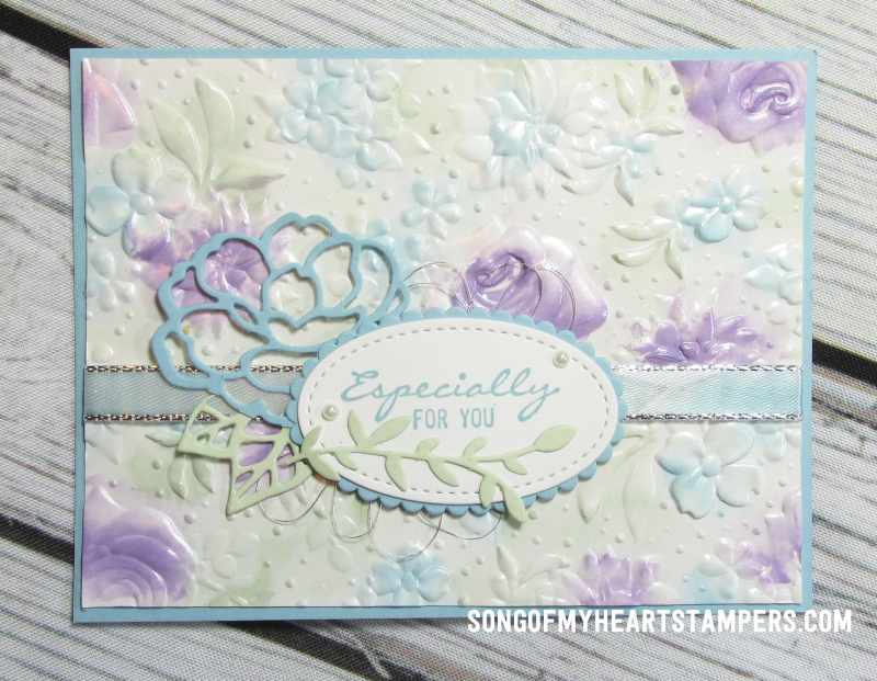 OnStage stampin up rubber stamps country floral