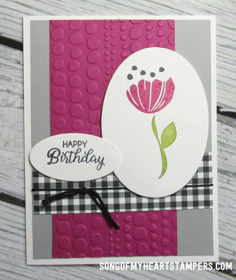 Onstage spring mini catalog stampin up blooms happiness  rubber stamps