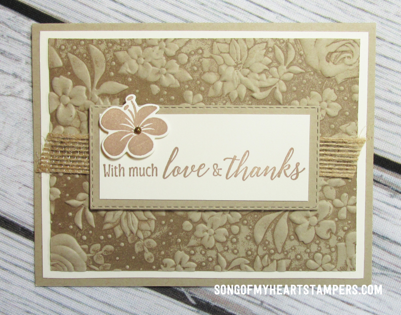 Onstage spring mini catalog stampin upcountry floral embossing folder  rubber stamps