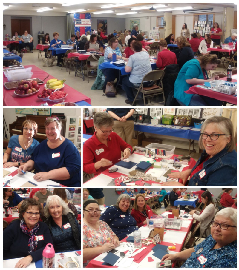 Honor Flight collage 5 stampin up