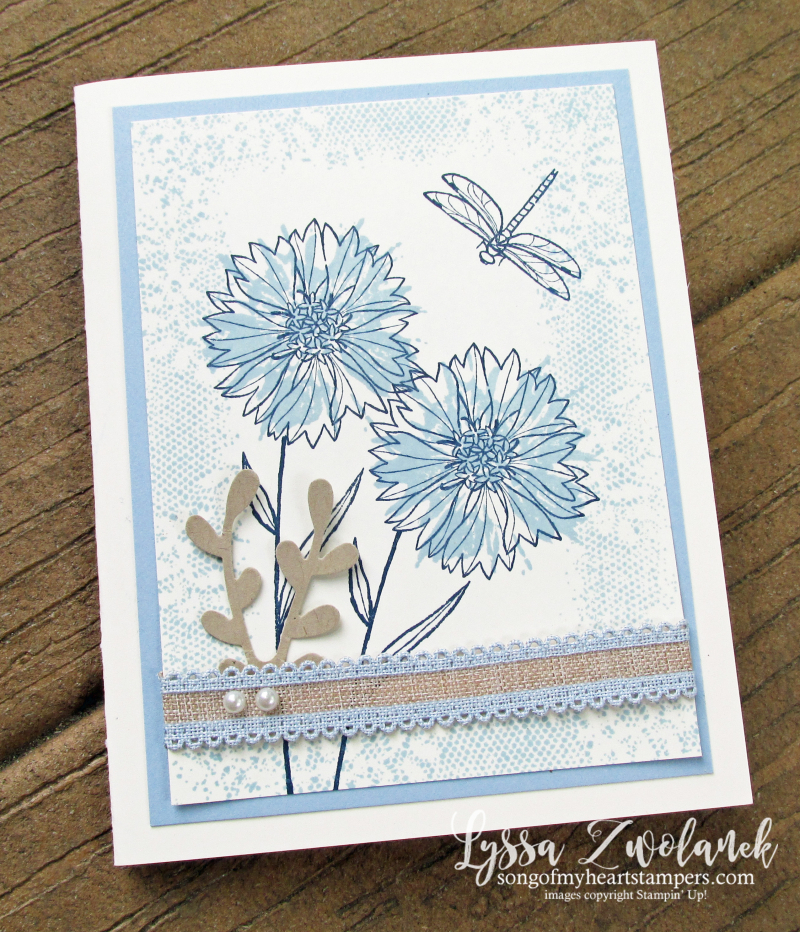Touches of nature Stampin Up rubber stamps Seaside spray new incolor burlap lace cardmaking DIY