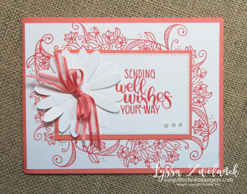 Beauty Abounds stampin up diy cardmaking techniques well wishes flourish