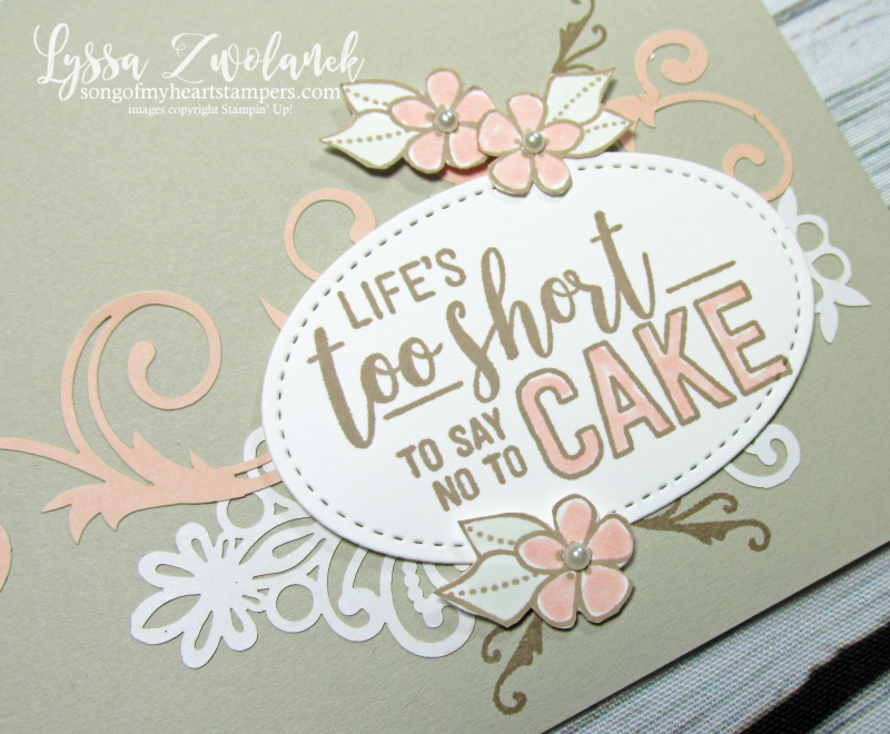 Amazing Life delightfully detailed rubber stamps stampin up cardmaking lace laser cut DIY handmade