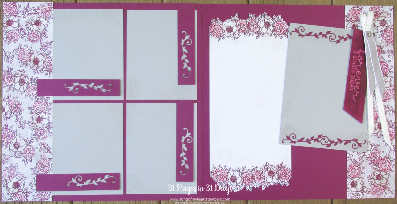 31 pages days scrapbooking 12x12 layouts anniversary weddings scrapbook album 1