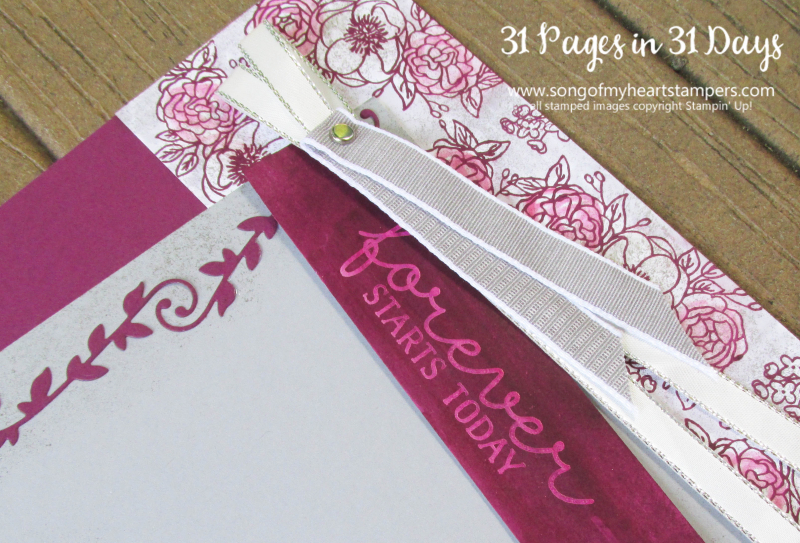 31 pages days scrapbooking 12x12 layouts anniversary floral wedding scrapbook album 1