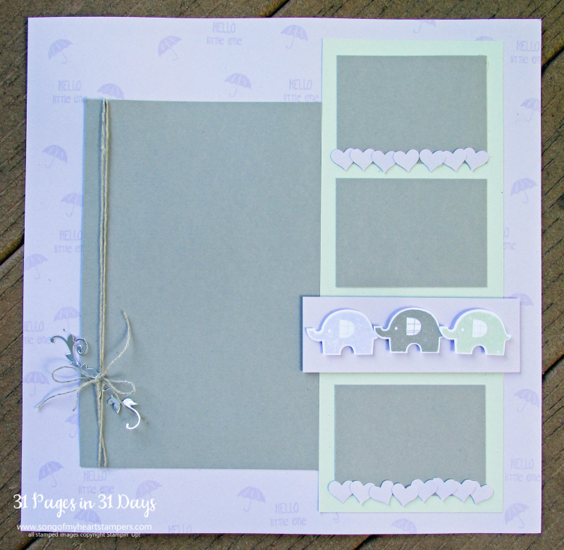 31 pages days scrapbooking 12x12 baby elephants shower nursery layouts scrapbook album 1