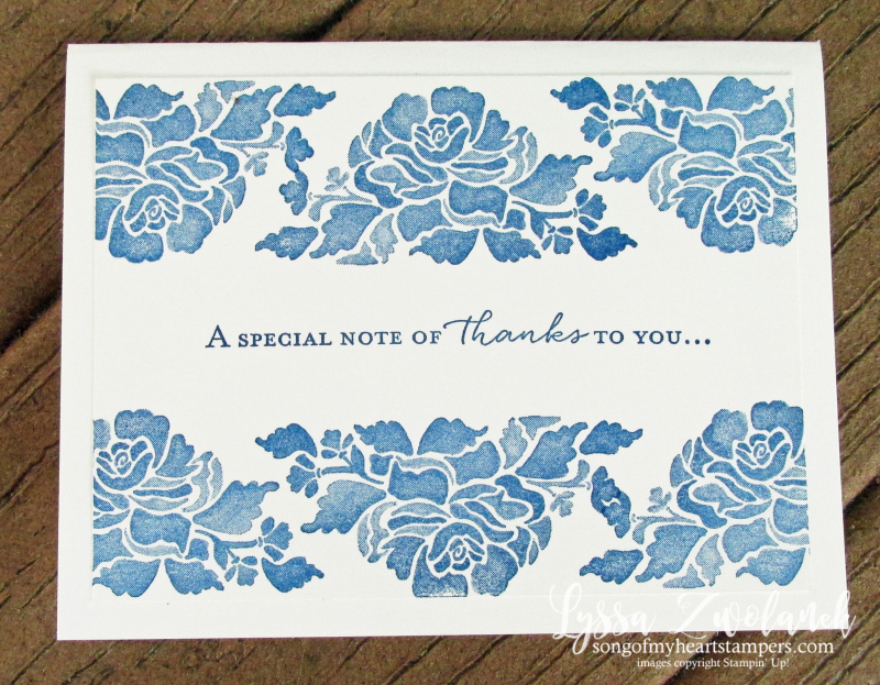 Floral phrases stampin up cardmaking supplies specials rubber stamps Lyssa