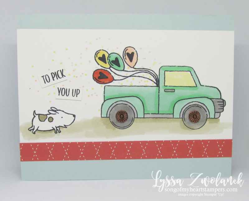 Truck Ride with Me little car pop up dies boys birthdays favors party