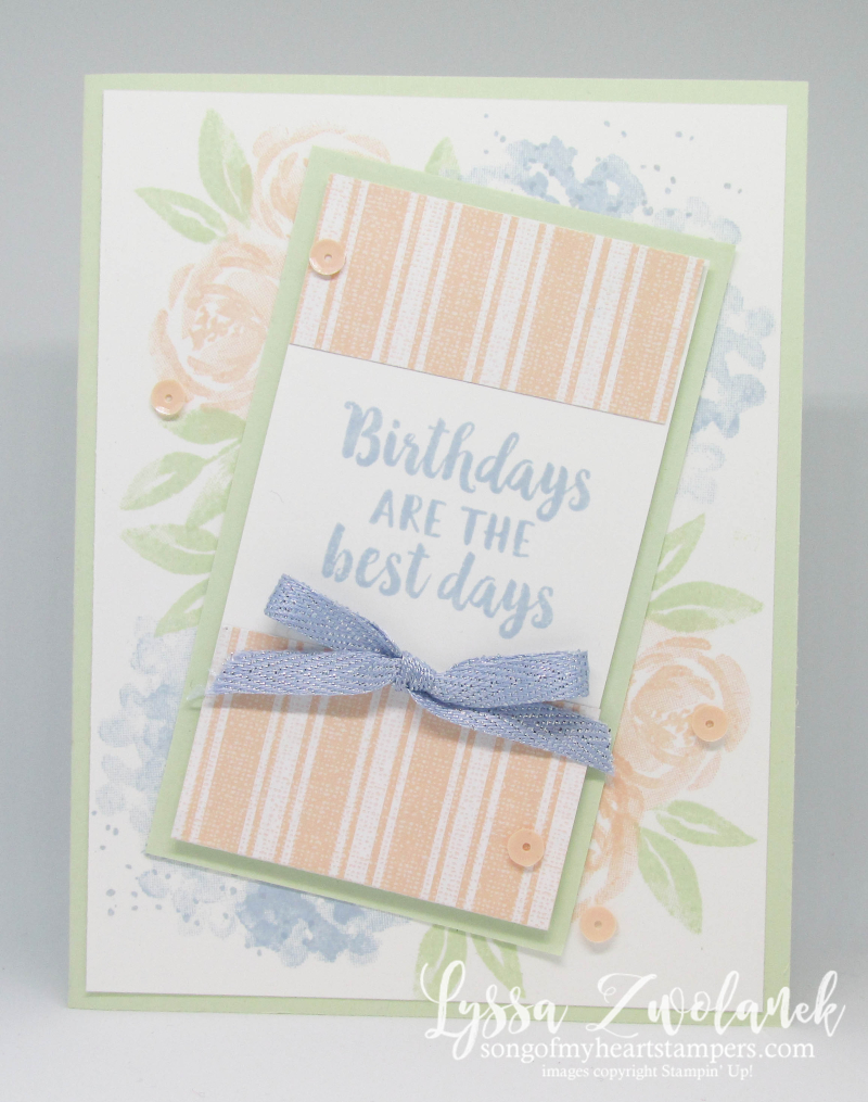 Beautiful friendship Stampin Up rubber stamps bouqet leaves hydrangeas gift card holder tutorials