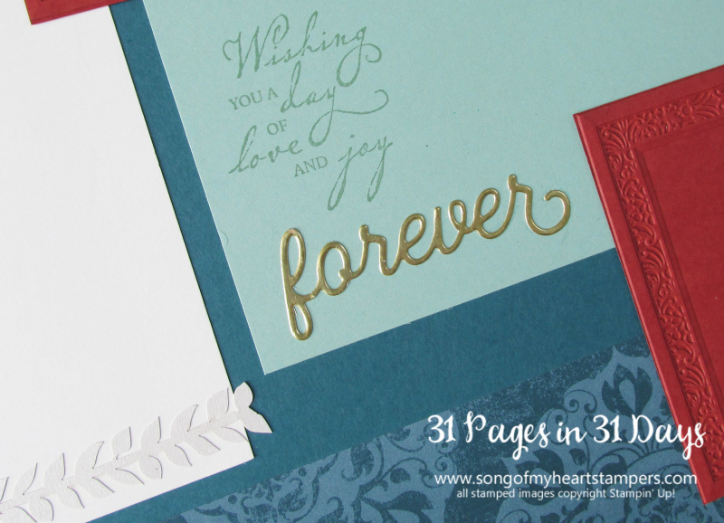 31 pages days scrapbooking 12x12 layouts SU only page ideas scrapbook album 19