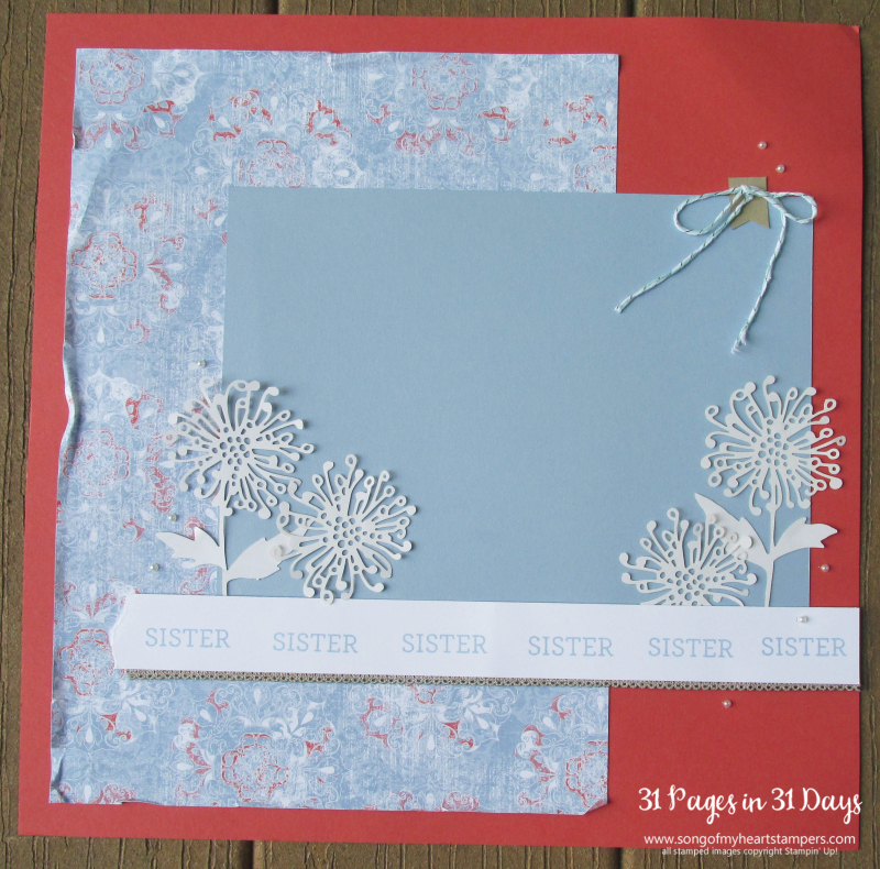 31 pages days scrapbooking 12x12 layouts SU only page ideas scrapbook album 21