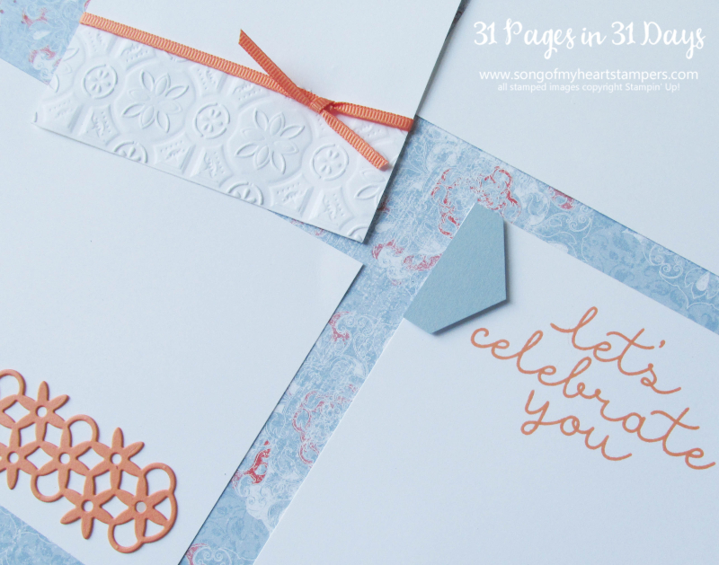 31 pages days scrapbooking 12x12 layouts SU only page ideas scrapbook album 17