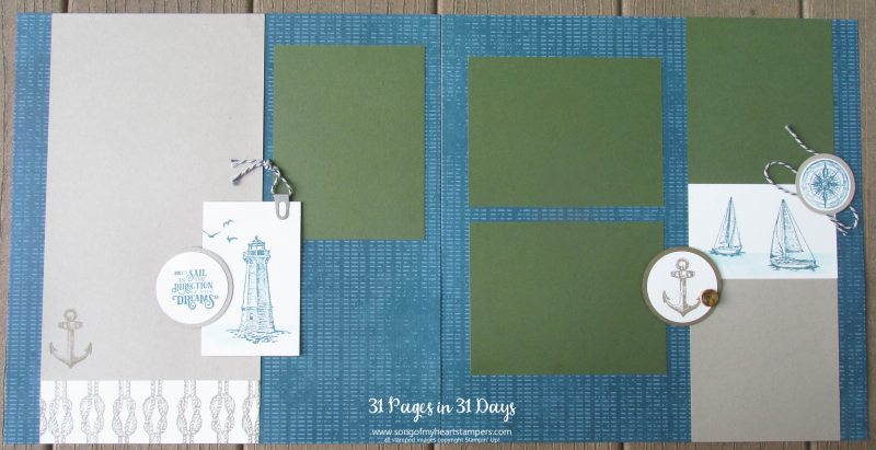 31 pages days scrapbooking 12x12 layouts SU only page ideas scrapbook album 6