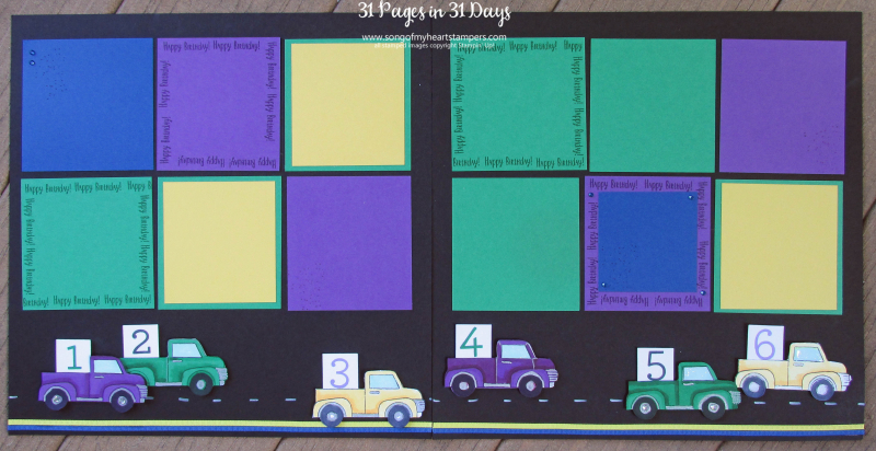 31 pages days scrapbooking 12x12 cars trucks trains boys layouts scrapbook album 1