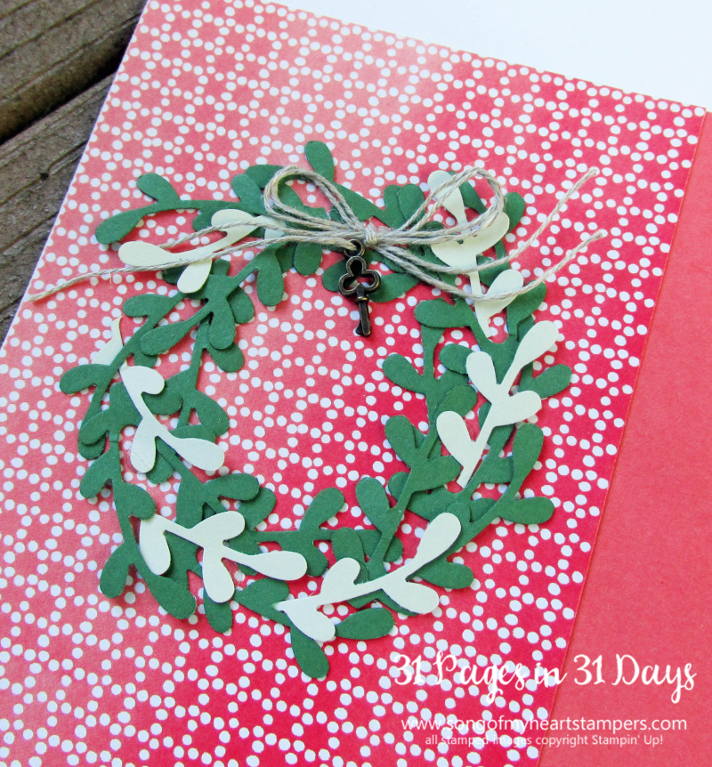 31 pages days scrapbooking 12x12 seasonal wreaths sprig punch layouts scrapbook album 1