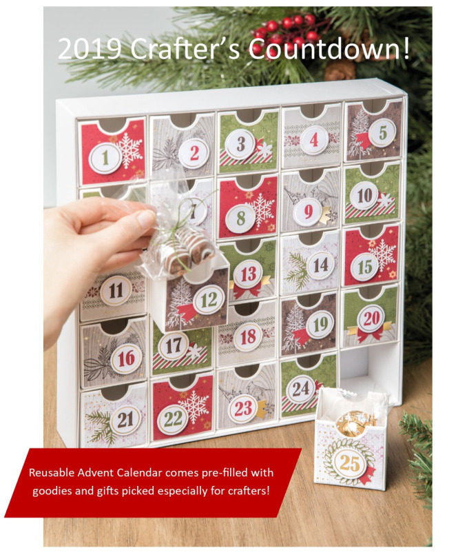 Crafters christmas calendar